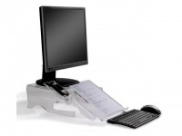 Monitorstandaard BE Q-deskmanager 150