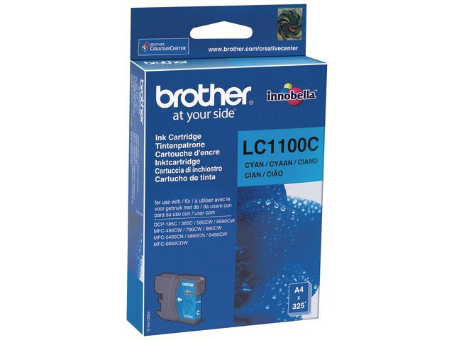 Brother Inkjet LC-1100C cyan