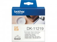 Tape Brother DK11219 rond 12mm/rol 1200