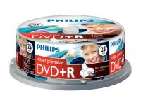 DVD+R Philips 4,7GB spindle 25
