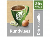 Soep Cup-a-soup drinkb. rundvlees/ds 26